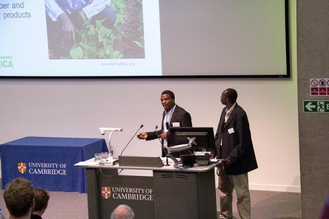 Farm Africa presentation at CCGFS 2016